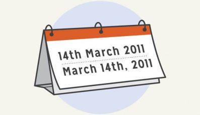 Hướng dẫn cách viết ngày tháng trong tiếng Anh chuẩn xác nhất