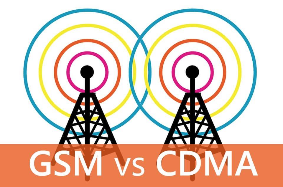 GSM là gì? Sự khác biệt cơ bản giữa GSM và CDMA là gì?