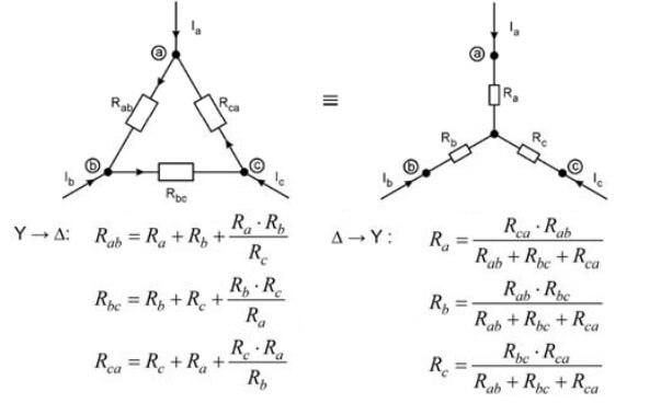 Mạch sao tam giác là gì? Khởi động mạch sao tam giác