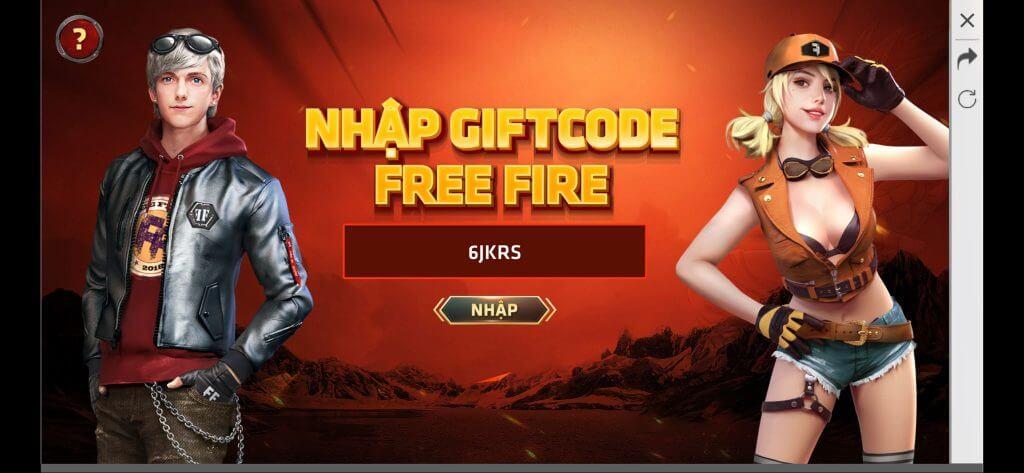Quà tặng 1000+ Gift code FF dành cho game Free Fire 2020