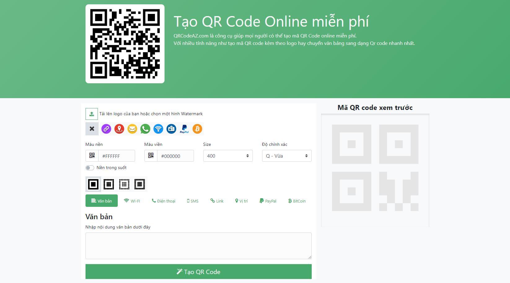Cách tạo QR Code online miễn phí để thả tính cực đẹp rất đơn giản