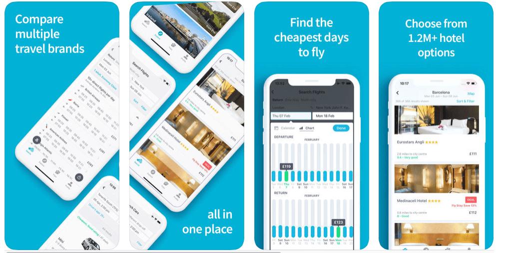 Tải Skyscanner – Ứng dụng đặt vé máy bay, phòng khách sạn giá rẻ