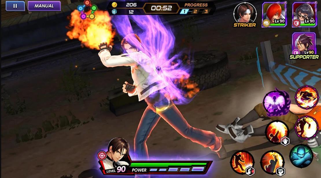 Tải King of Fighters – Game hành động nhập vai cho điện thoại hay nhất