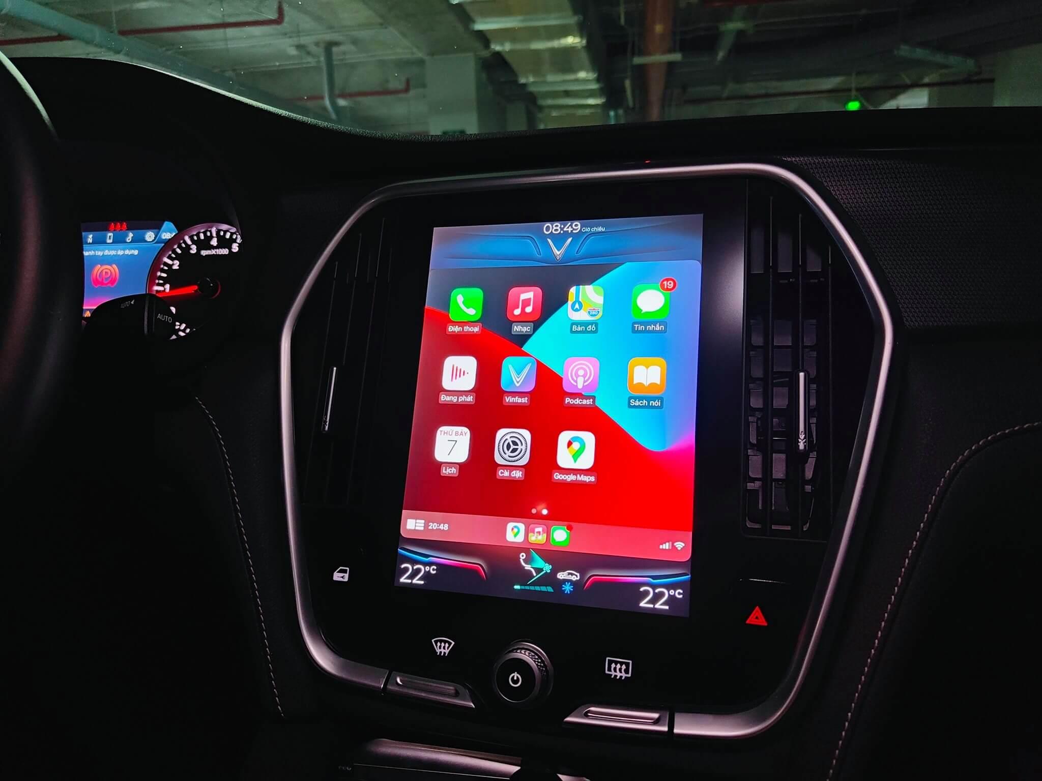 Link download file Update Apple Carplay Vinfast Lux A 2021